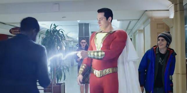 Shazam - Super Kahraman Bilim Kurgu Fİlmi