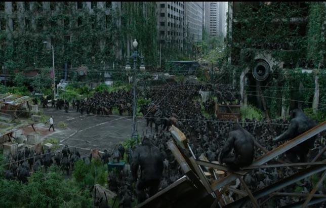 Dawn Of The Planet Of The Apes - fantasik bilim kurgu filmleri