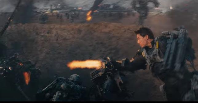 Edge of Tomorrow - Aksiyon bilim kurgu film önerileri