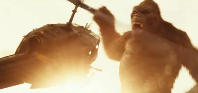 Kong Skull Island - Bilim kurgu aksiyon - Bilim kurgu macera