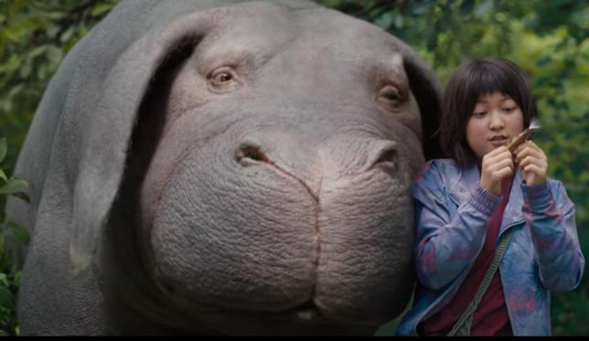 Okja - Netflix en iyi bilim kurgu filmleri
