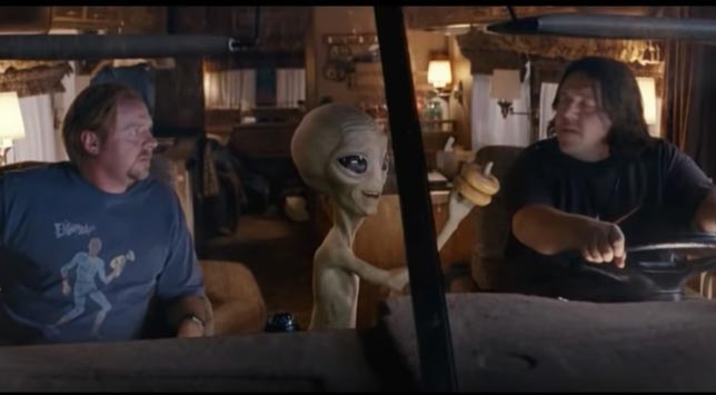 Paul - Komik ve macera bilim kurgu filmleri