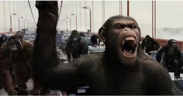 Rise of The Planet of The Apes - Fantastik Bilim Kurgu Fİlmi