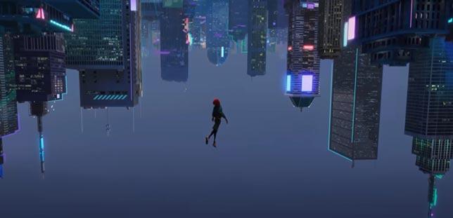 Spider-Man İnto the Spider Vers - Animasyon bilim kurgu filmi