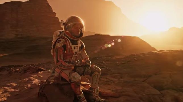 The Martian - uzay bilim kurgu filmleri