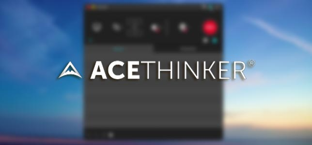 AceThinker Screen Grabber Pro - Ekran Kaydedici Program