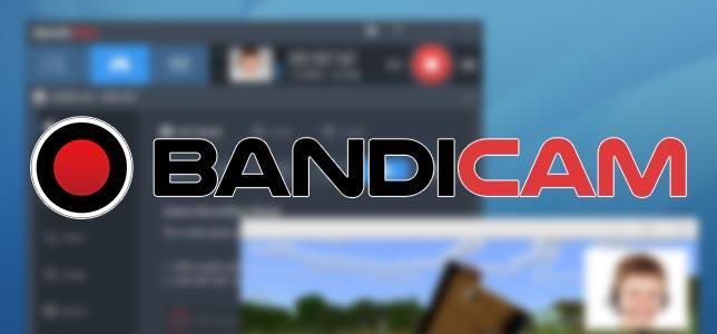 Bandicam - Ekran Görüntüsü Kaydetme Programı