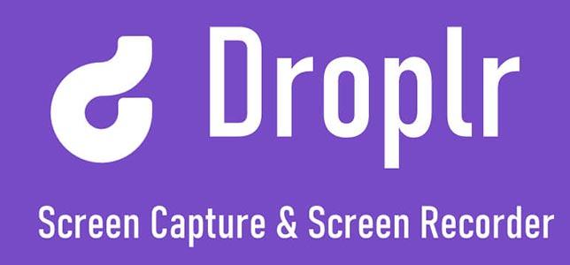 Droplr - Ekran Kaydı Alma Programı