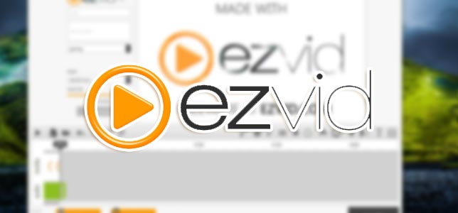 Ezvid - Ekran Videosu Kaydedici