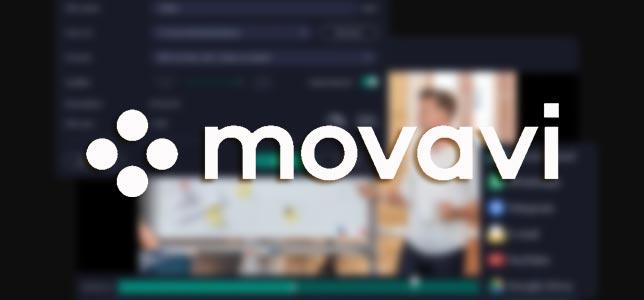 Movavi Screen Recorder - Bilgisayar İçin Ekran Kaydedici