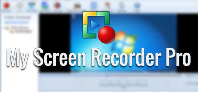 My Screen Recorder Pro - Ekran Kaydetme Programı