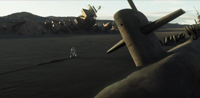 Oblivon - Tom Cruise bilim kurgu filmleri