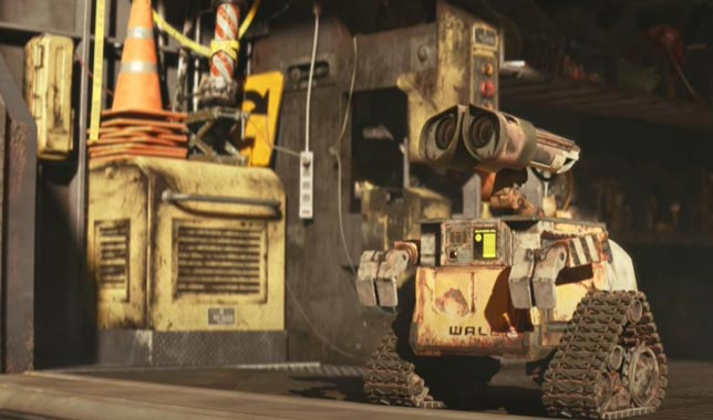 Wall-E Bilim kurgu animasyon filmleri