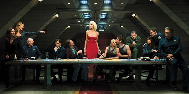 Battlestar Galactica - Uzay Konulu Bilim Kurgu dizileri