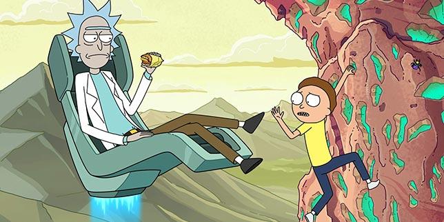 Rick and Morty - Animasyon Bilim Kurgu Dizileri